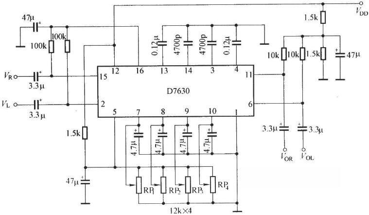 D7630的应用电路图