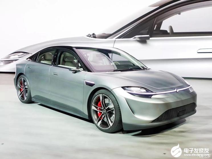 索尼发布VISION-S纯电动概念车意不在造车