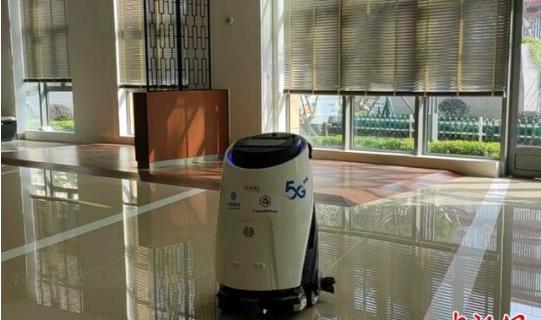 """防疫机器人来了 人工智能加入""""战队"""""""
