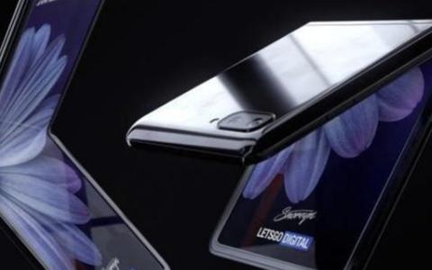三星新折叠屏手机曝光,采取上下折叠方案