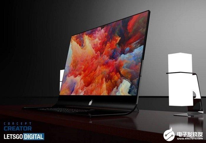 苹果专利公布,采用柔性显示屏设计iMac Pro...