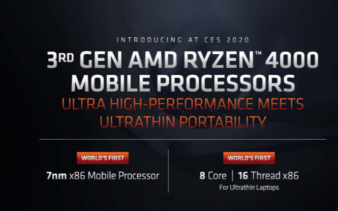 AMD称第三代Ryzen性能比Ice Lake高90%