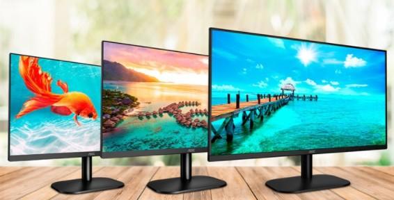 AOC发布入门级显示器B2系列,采用VGA和HDMI 1.4输入接口