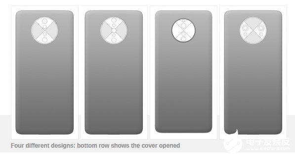 一加相机外观设计专利曝光,圆形外观可进行旋转