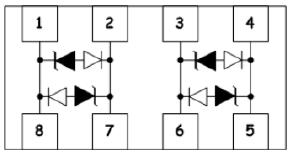 ULC33CP8超低电容ESD,雷电浪涌防护,高速信号保护 替代Littelfuse SP3312TUTG