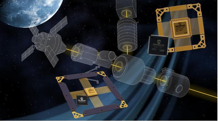 Microchip發布業界首款宇航級耐輻射乙太網收發器
