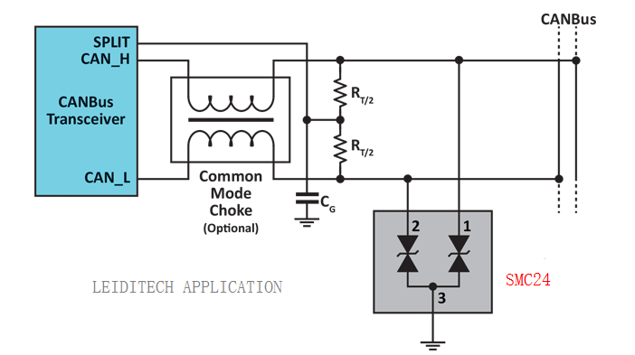 汽車電子常用EMC保護方案集