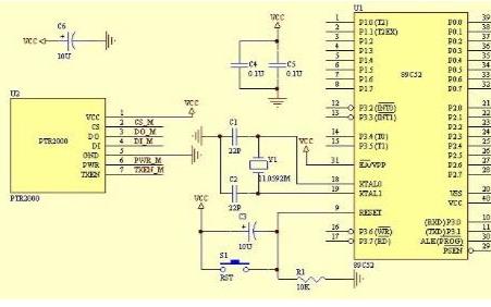AT89C52單片機實現短距離無線傳輸的設計