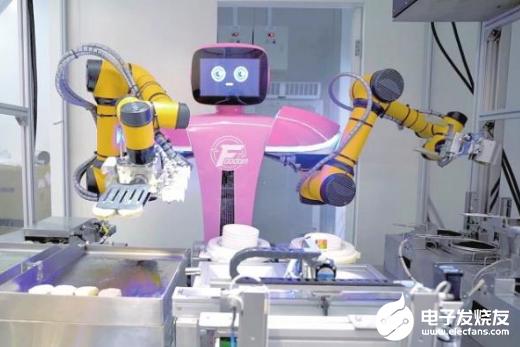 機器人開始做中餐 機器人時代的到來將成為一種必然