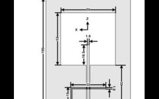 采用共面波导结构实现双极化槽天线的设计