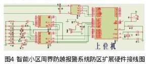 基于单片机AT89S52与总线技术实现小区周界防越报警系统的设计