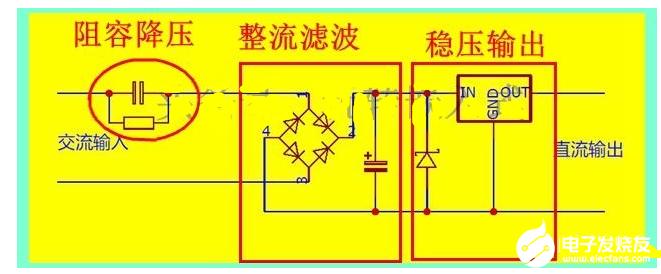 无变压器的12v电源实现方案分享