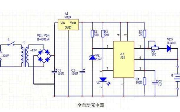 555时基过压过流保护电路的详细资料说明