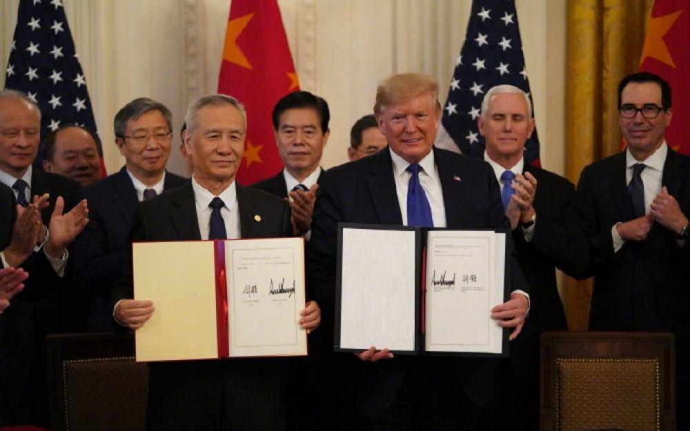 美中贸易协定正式生效 科技公司将受到的影响?