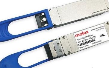 Molex基于100G PAM-4光学平台的特点及应用解决方案