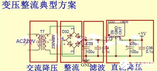 220V转5V的降压电路方案