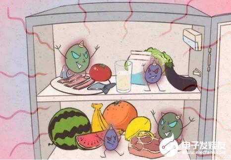 冰箱的储存要正确 不然容易引起细菌交叉感染