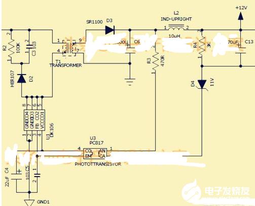 开关电源输出端并个电阻的作用