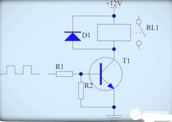 三極管控制繼電器的接法盤點