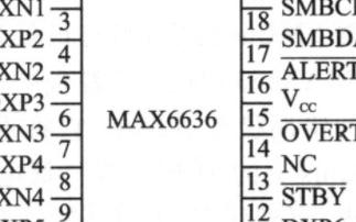 MAX6636的工作原理、性能特点及如何实现多点温度监测的设计