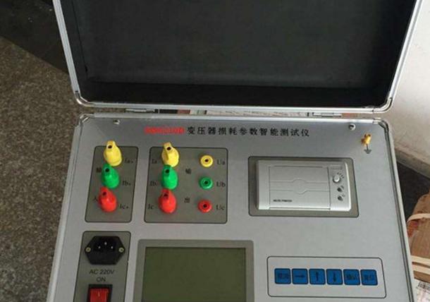 變壓器損耗參數測試儀的使用說明