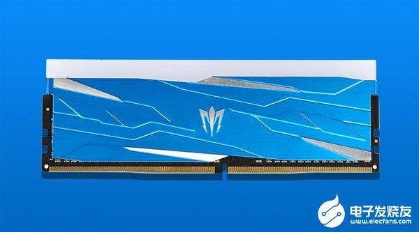 影驰发布新款内存 首次采用蓝色作为外观风格