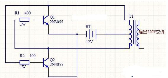 2N3055逆變器電路原理