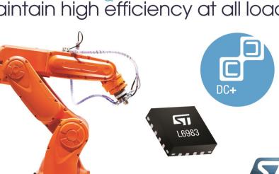 意法半导体推出针对智能工业应用的高集成度、高灵活...