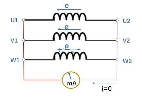 怎么判断三相异步电动机的首尾端?
