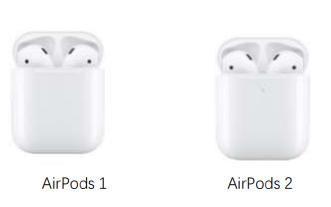 苹果无线耳机AirPods1与AirPods2及AirPods pro有什么区别