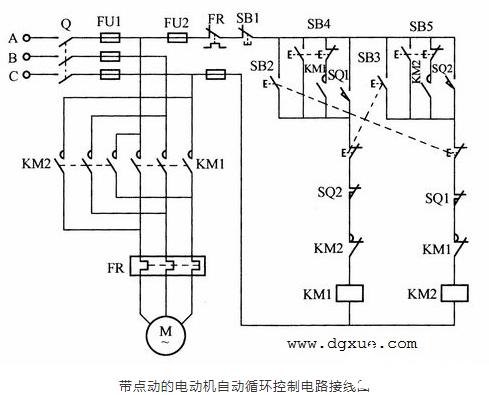 一种具有全自动性的可逆控制电路