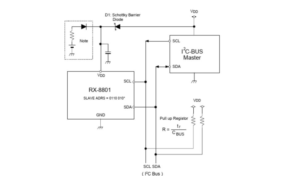 RX8025T时钟芯片的数据手册免费下载