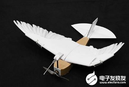 科学家制造出鸽子机器人 一种能模仿鸟类飞行方式的飞行器