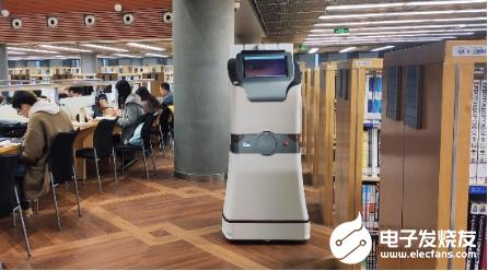 智能图书盘点机器人亮相 减少图书馆员耗费时间和精力