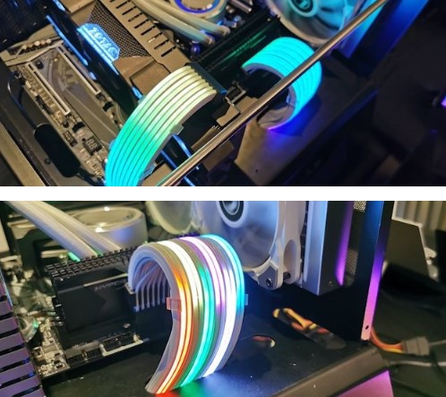 联力推出Strimer Plus电源连接线,可实现多种RGB效果