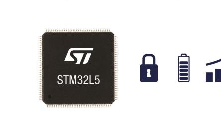 意法半导体推出面向IoT的首个兼备超低功耗与数据安全的新一代STM32L5微控制器