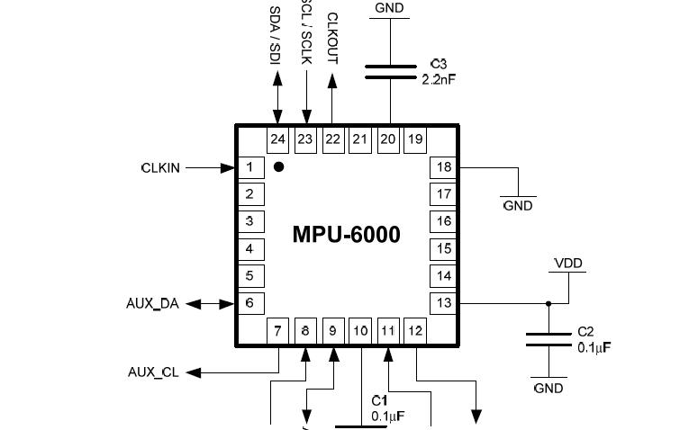 MPU-6000和MPU-6050的数据手册免费下载