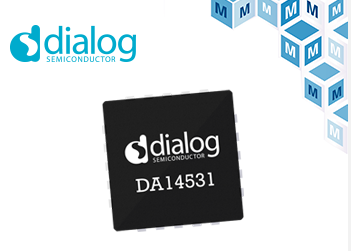 Mouser stocks Dialog subminiature DA14531