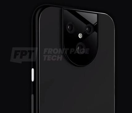 谷歌Pixel 5 XL渲染图曝光采用了后置三摄组合闪光灯置于摄像头中央