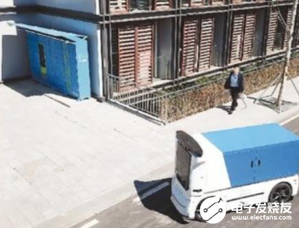 机器人配送商品 快递业进入爆发式发展阶段