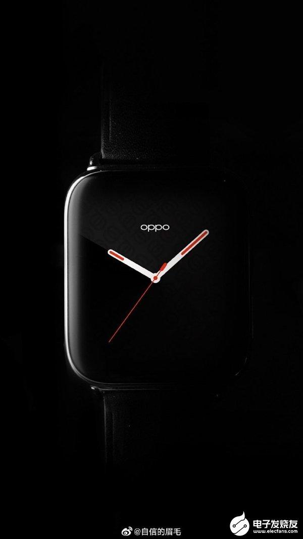 OPPO首款智能手表官图公布 今年颜值最高智能手...