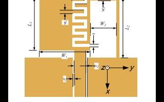 具有加載零諧振單元結構的平面單極子天線的設計
