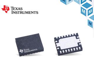 贸泽推出集成CAN FD 控制器和收发器的TI TCAN4550系统基础芯片