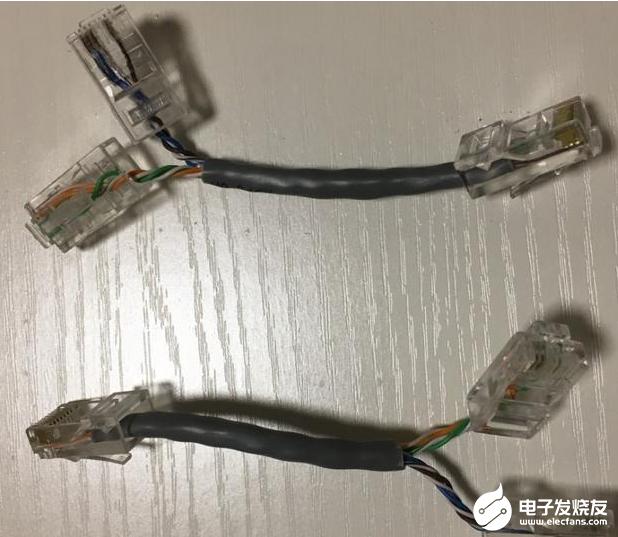 網線可以并兩個水晶頭嗎