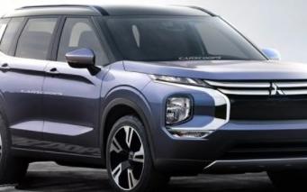 三菱欧蓝德渲染图曝光,高度还原三菱e-Yi概念车设计