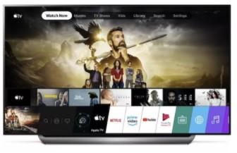 苹果Apple TV应用程序登陆2019款LG电视产品中