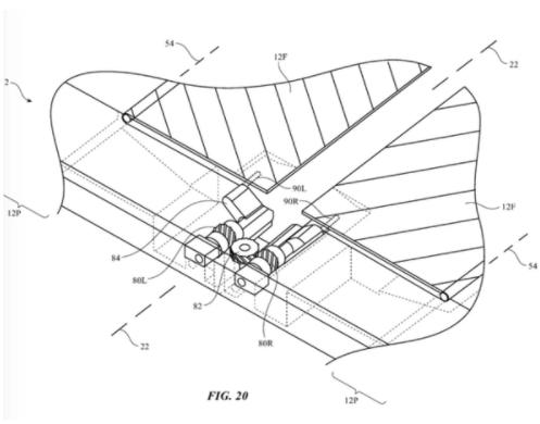 苹果折叠屏专利图曝光采用了与三星Galaxy F...