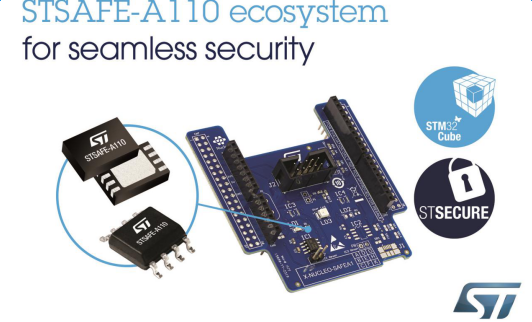 STMicroelectronics Introduces New STSAFE Security Unit