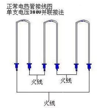 三相電源開水器常見故障及修理方法