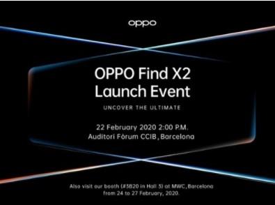 OPPO Find X2即将在海外发布,采用超小开孔2K曲面OLED屏
